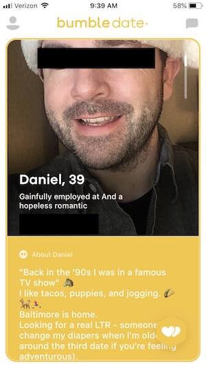best bumble bios for guys