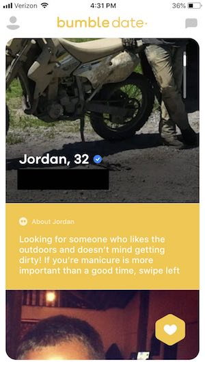 best bumble bio for guys