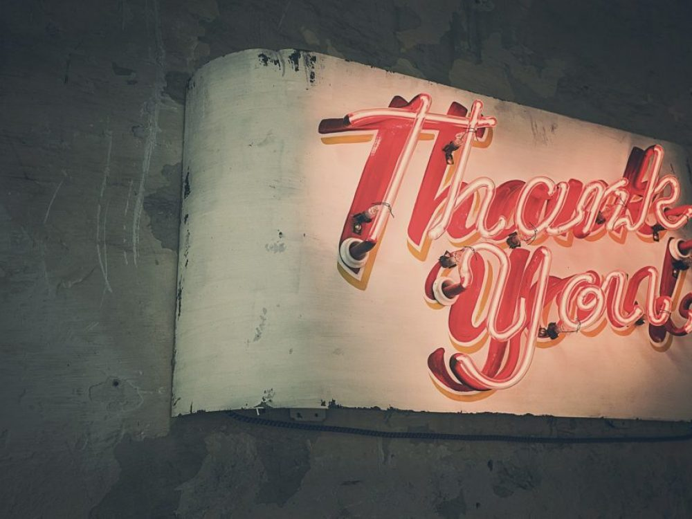"The Power of A ""Thank You…"" & Its Simplicity"