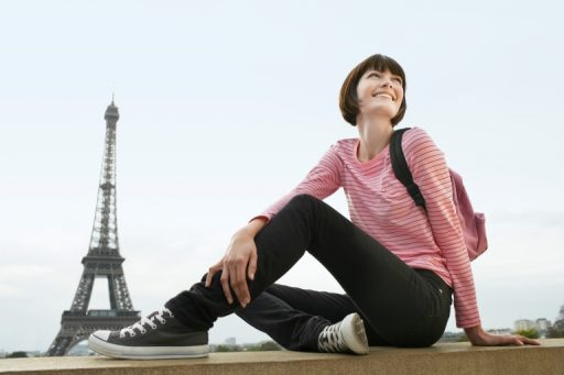woman in France